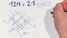 Mathematikaufgabe: Multiplikation
