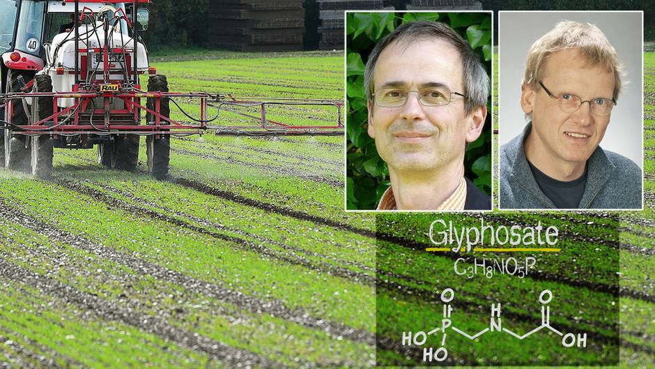 Horst-Henning Steinmann und Christoph Schäfers äußern sich zu Glyphosat
