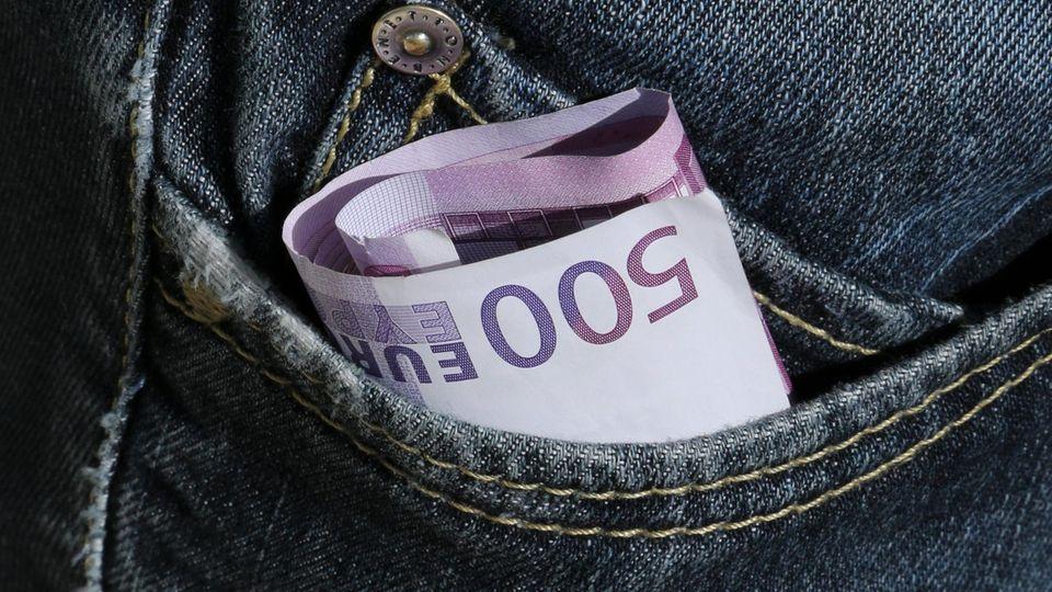 Studie: Europavergleich: Wer trägt das meiste Bargeld im Portemonnaie?