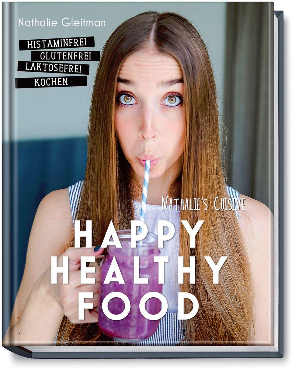 """Gluten-, laktose- und histaminfreie Rezepte finden Sie in """"Happy Healthy Food"""" von Nathalie Gleitman. Becker Joest Volk Verlag. 256 Seiten. 24,95 Euro."""
