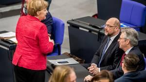 Ob sie das Gleiche oder zumindest Ähnliches wollen, müssen Angela Merkel und Martin Schulz erst klären.