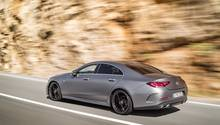 Mercedes CLS 2018 - zunächst gibt es drei Sechszylinder