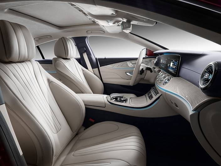 Mercedes CLS 2018 - der Innenraum stammt von der E-Klasse