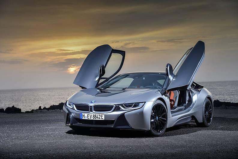 BMW i8 - auch das Coupé bekam eine schmale Modellpflege