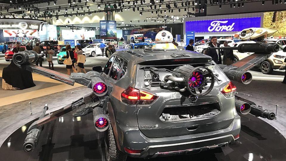 Luke Skywalker lässt grüßen: Nissan Star Wars
