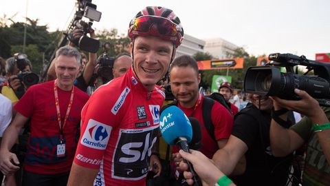 Radsport - Chris Froome - Giro d'Italia