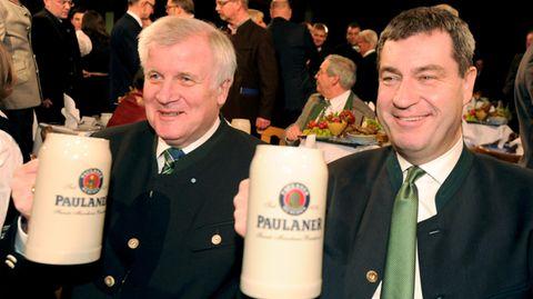 CSU-Chaos um Horst Seehofer und Markus Söder
