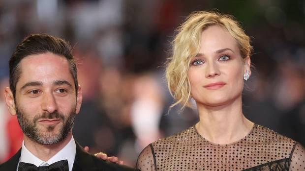 """Diane Kruger (hier mit Denis Moschitto) spielt in """"Aus dem Nichts"""", von Fatih Akin, eine Mutter, deren Sohn und Ehemann bei einem Bombenanschlag von Neonazis getötet werden"""