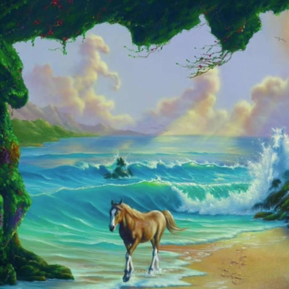 Suchbild Wie Viele Pferde Sehen Sie In Diesem Bild Sternde