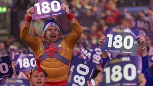 Darts-WM 2018 Spielplan und Ergebnisse