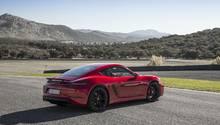 Porsche 718 Cayman GTS - optisch eine Nummer schärfer als der Cayman S