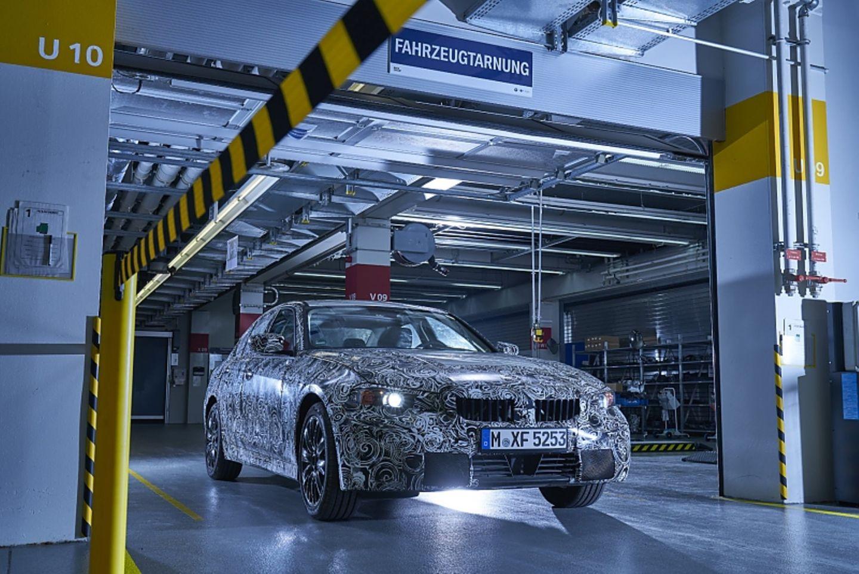 BMW Tarnwerkstatt FIZ München