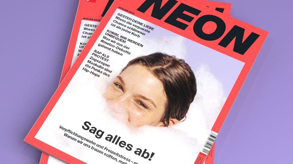 #metoo, Liebe u.v.m.: Das steht in der Januar-Ausgabe der NEON