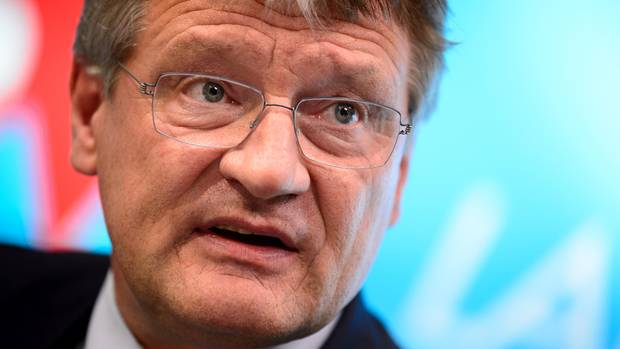 Hat viele Unterstützer im rechtsnationalen Flügel der Partei: derAfD-Vorsitzende Jörg Meuthen