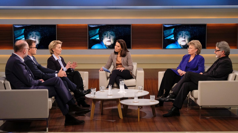 Anne Will fragt ihre Gäste: Wie geschwächt ist Angela Merkel?