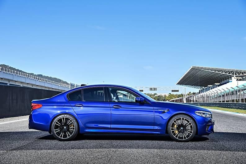 BMW M5 - erstmals als Allradversion zu bekommen