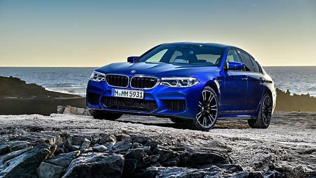 BMW M5 - die derzeit wohl schnelle Sportlimousine auf dem Markt