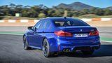 BMW M5 - 0 auf Tempo 100 in deutlich unter vier Sekunden