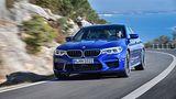 BMW M5 - große Lufteinlässe vorn