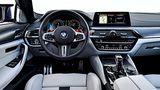 Das Cockpit des neuen BMW M5