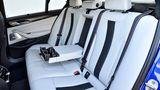 BMW M5 - viel Platz auch im Fond