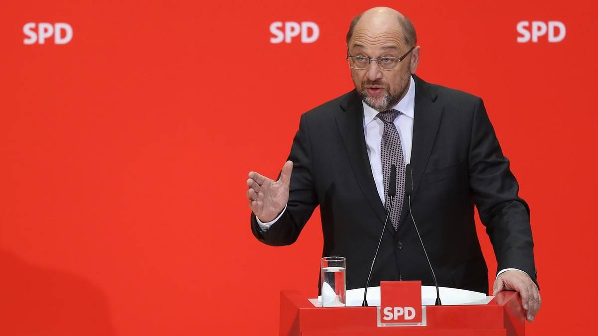 Sondierungsgespräche: SPD-Spitze will mit Union über GroKo reden - mit vielen Forderungen im Gepäck