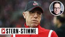 Wurde beim 1. FC Köln wegen Erfolglosigkeit entlassen: Peter Stöger