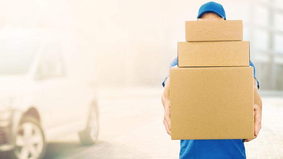 Viele Paketboten sind überlastet