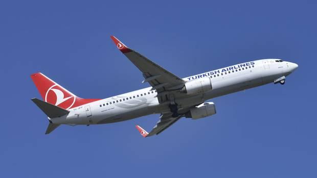 Eine Boeing 737, mit der Turkish Airlines die Strecke von Nairobi nach Istanbul fliegt.