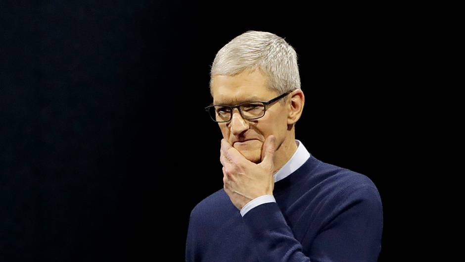 Tim Cook Apple Patzer iPhone