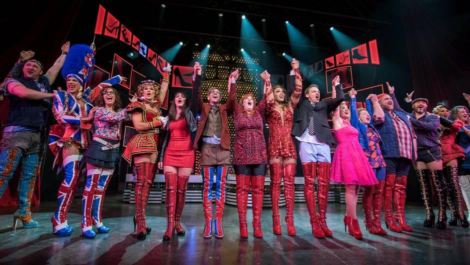 Kinky Boots Premiere in Hamburg