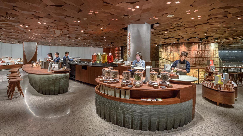 Dieser Starbucks ist fast doppelt so groß als die bisher größte Filiale in Seattle, USA