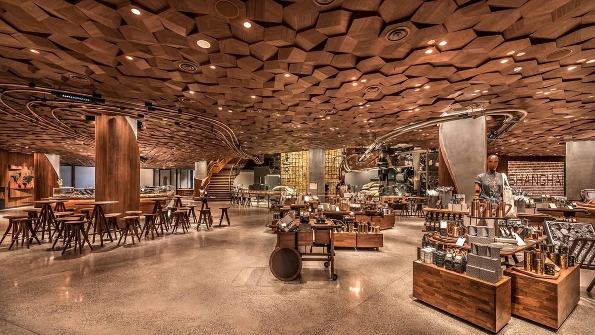 Das ist der größte Starbucks der Welt – 300 Mal größer als ein ...