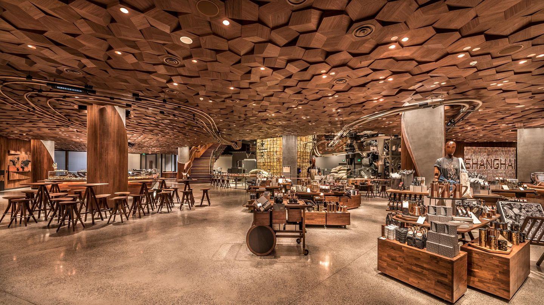 China ist für Starbucks ein wichtiger und vor allem wachsender Markt. Kein Wunder also, dass in Shanghai die größte Filiale der Welt entstand.