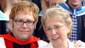 Elton John - Trauer - Mutter - Sheila Farebrother