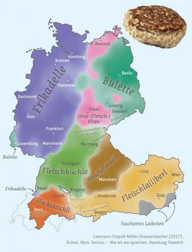 Grafik-Übersicht über Deutschland, Osterreich, Italien und die Schweiz