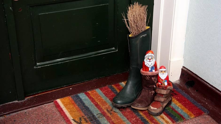 Wann stellt man den Nikolaus Stiefel raus?