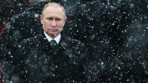 Wladimir Putin hat im November ein Gesetz unterschrieben, das die Einstufung ausländischer Medien als Agenten ermöglicht