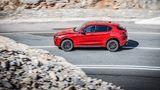 Alfa Romeo Stelvio Quadrifoglio - bei normaler Fahrt gelangt nahezu die komplette Kraft an die Hinterachse