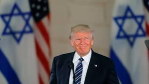 Donald Trump will die US-Botschaft in Israel von Tel Aviv nach Jerusalem verlegen