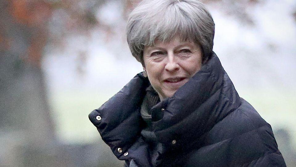 Theresa May im Fokus von islamistischen Terroristen