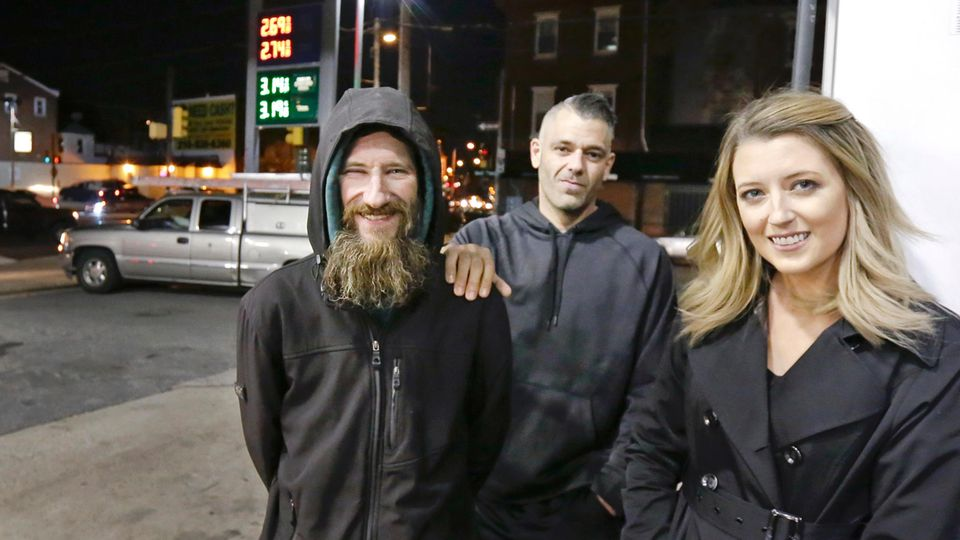 Obdachloser - Johnny - Spende - Benzin