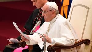 """Papst Franziskus rief zur Wahrung des Status quo von Jerusalem auf und mahnte zu """"Besonnenheit und Vorsicht"""""""