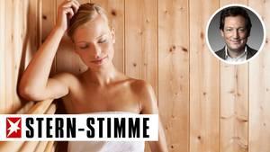 Die Sauna - kein Ort von Freizügigkeit, sondern einer von äußerster Beklemmung