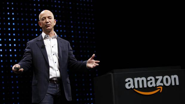 Jeff Bezos, Chef von Amazon