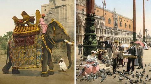 Logbuch der Sehnsucht: Mit Dampfschiff, Kutsche und Elefant - als Reisen noch ein Abenteuer war