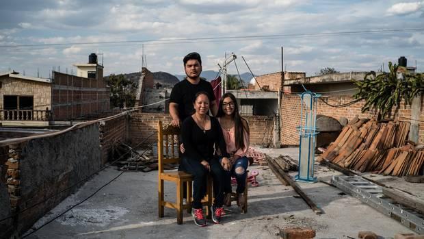 Die Kinder von Lupita García besuchen ihre Mutter in Mexiko. Sie leben mit ihrem Vater weiter in Arizona.