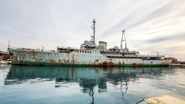 """Die """"Galeb"""", die """"Möwe"""", so lautet der Name dieses Schiffes, das einst die Staatsjacht des jugoslawischen Machthabers Josip BrozTito war. Der Kommunist war von 1953 bis 1980 der Staatspräsident des Balkanlandes."""