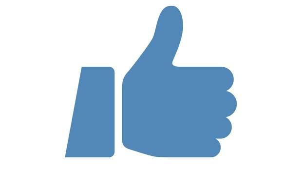 """Facebook-Button """"Gefällt mir"""""""