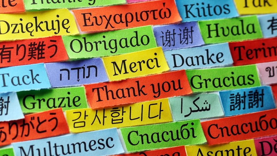 Übersetzungen in unterschiedliche Sprachen